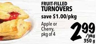 Fruit-filled Turnovers 350 g