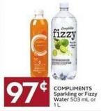 Compliments Sparkling or Fizzy Water