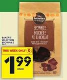 Baker's Selection Brownies