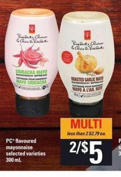 PC Flavoured Mayonnaise - 300 Ml