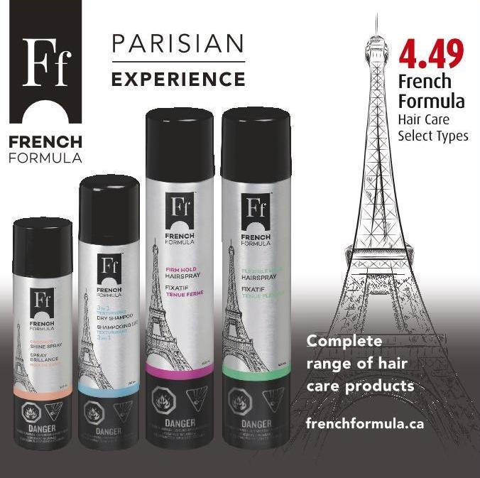 French  Formula Hair Care