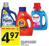 Tide - Purex Or Persil Laundry Detergent