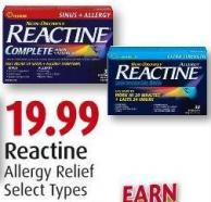 Reactine Allergy Relief