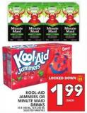 Kool-aid Jammers Or Minute Maid Drinks