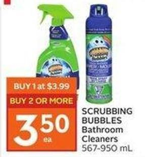 Scrubbing Bubbles Bathroom Cleaners