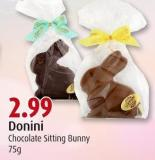 Donini Chocolate Sitting Bunny 75g