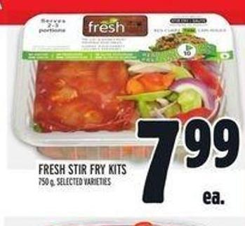 Fresh Stir Fry Kits