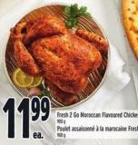 Fresh 2 Go Moroccan Flavoured Chicken