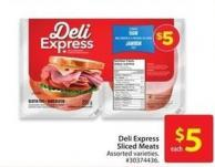 Deli Express Sliced Meats