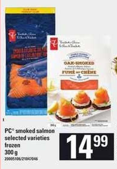 PC Smoked Salmon - 300 g
