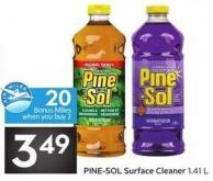 Pine-sol Surface Cleaner 1.41 L - 20 Air Miles Bonus Miles