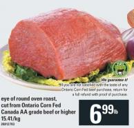 Eye Of Round Oven Roast