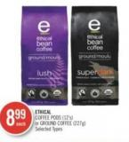 Ethical Coffee PODS (12's) or Ground Coffee (227g)