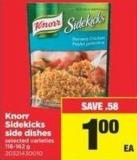 Knorr Sidekicks Side Dishes - 116-162 g