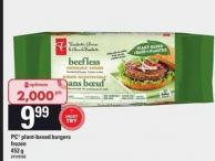 PC Plant-based Burgers - 452 g