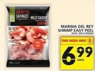 Marina Del Rey Shrimp Easy Peel