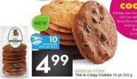 Thin & Crispy Cookies - 10 Air Miles Bonus Miles