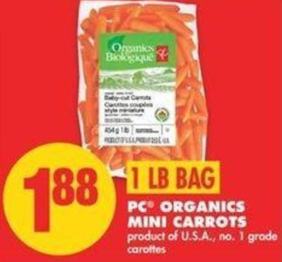 PC Organics Mini Carrots - 1 Lb Bag