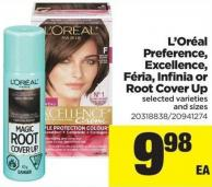 L'oréal Preference - Excellence - Féria - Infinia Or Root Cover Up