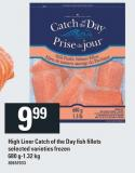 High Liner Catch Of The Day Fish Fillets - 680 G-1.32 Kg