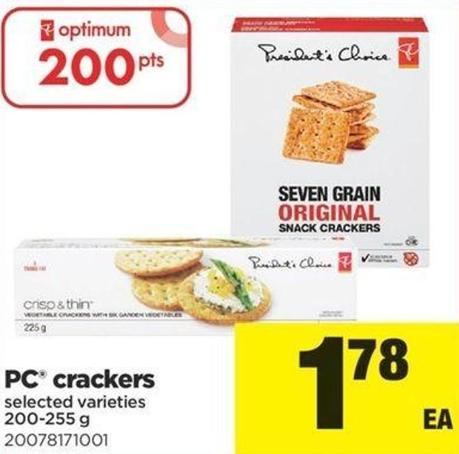 PC Crackers - 200-255 G
