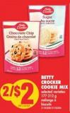 Betty Crocker Cookie Mix - 177-212 g