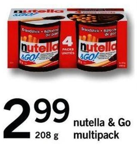 Nutella & Go Multipack