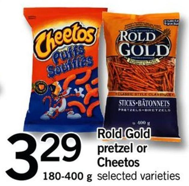 Rold Gold Pretzel Or Cheetos