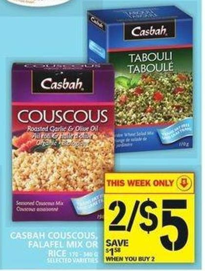 Casbah Couscous - Falafel Mix Or Rice