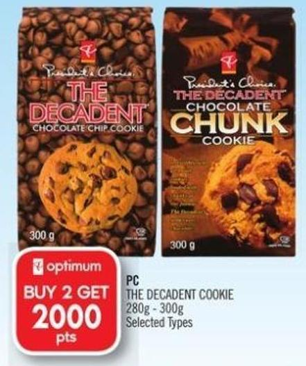 PC The Decadent Cookie 280g - 300g