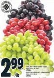 Green - Red Or Black Seedless Grapes