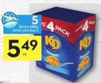 Kraft Dinner Macaroni & Cheese - 5 Air Miles Bonus Miles