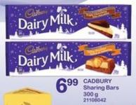 Cadbury Sharing Bars - 300 G