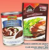 Franco-american Gravy Or Clubhouse Gravy Mix