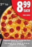 Pepperoni Cheese 16in X-large Hot Pizza