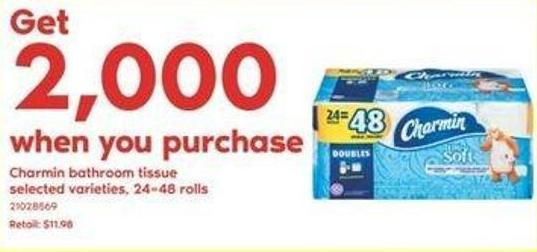 Charmin Bathroom Tissue - 24=48 Rolls