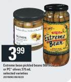 Extreme Bean Pickled Beans 500 Ml Or PC Olives 375 Ml