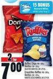 Ruffles Chips 190 - 200 g Doritos 230 - 255 g