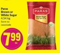 Paras Brown or White Sugar 4.54 Kg