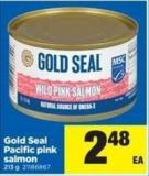 Gold Seal Pacific Pink Salmon - 213 g