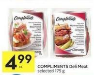 Compliments Deli Meat Selected 175 g