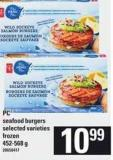 PC Seafood Burgers - 452-568 g
