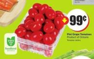 Pint Grape Tomatoes Product of Ontario