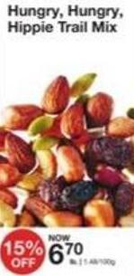 Hungry - Hungry - Hippie Trail Mix