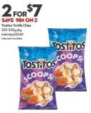 Tostitos Tortilla Chips 220-320g Pkg