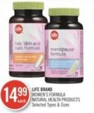Life Brand Women's Formula Natural Health Products
