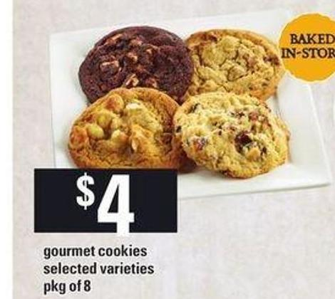 Gourmet Cookies - Pkg of 8