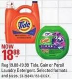 Tide - Gain or Persil Laundry Detergent