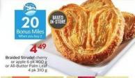 Braided Strudel - 20 Air Miles Bonus Miles