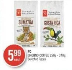 PC Ground Coffee 250g - 340g